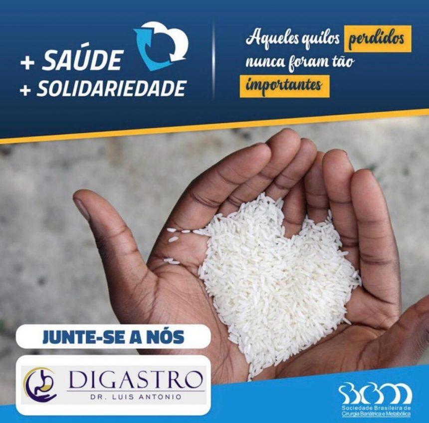 + Saúde + Solidariedade